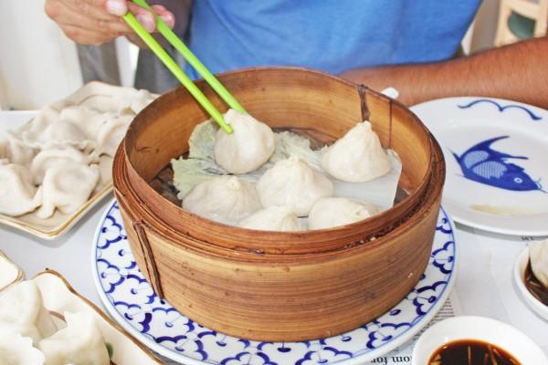 soup dumplings, kingdom of dumplings, sunset district, san francisco, california