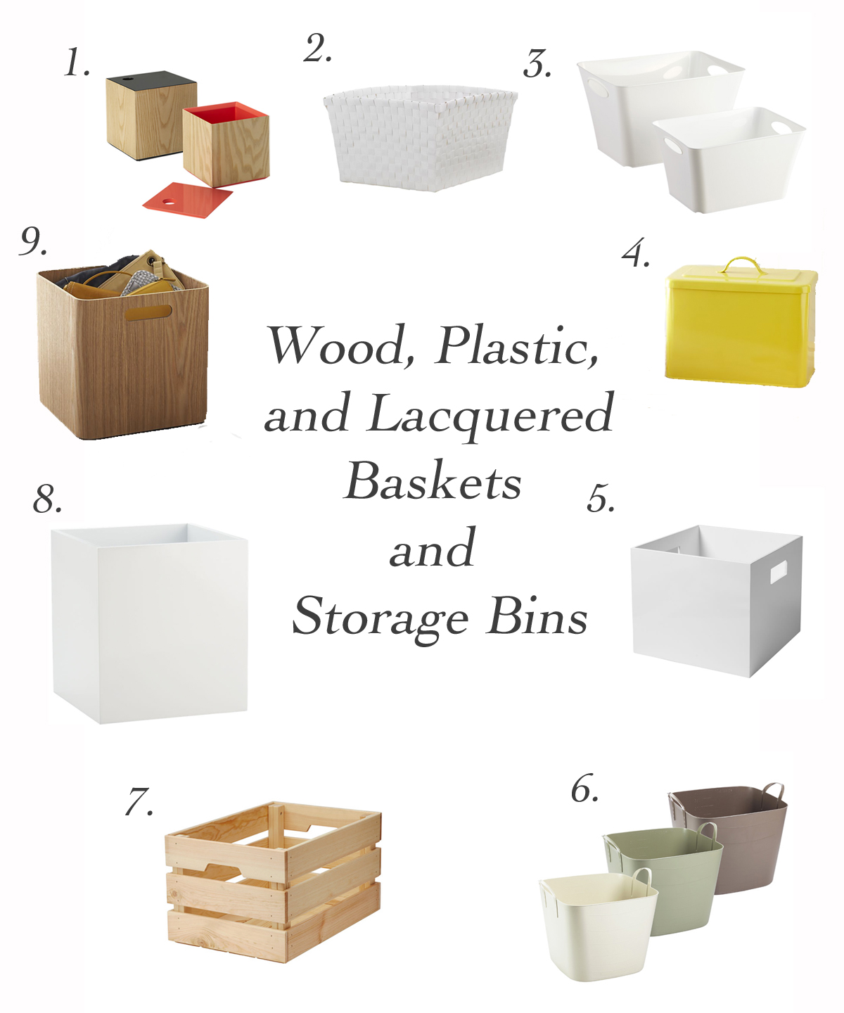 Moth Proof Baskets and Storage Bins Far Out City