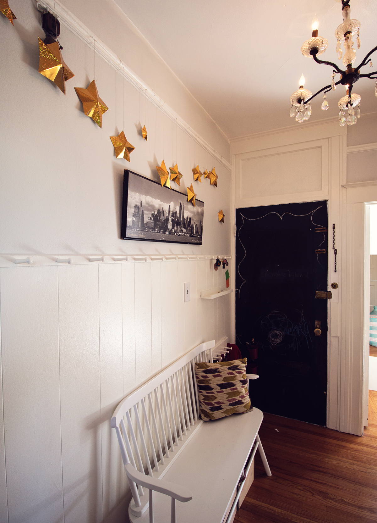 that time i screwed shaker pegs into every room of our apartment far out city - Shaker Apartment Decor