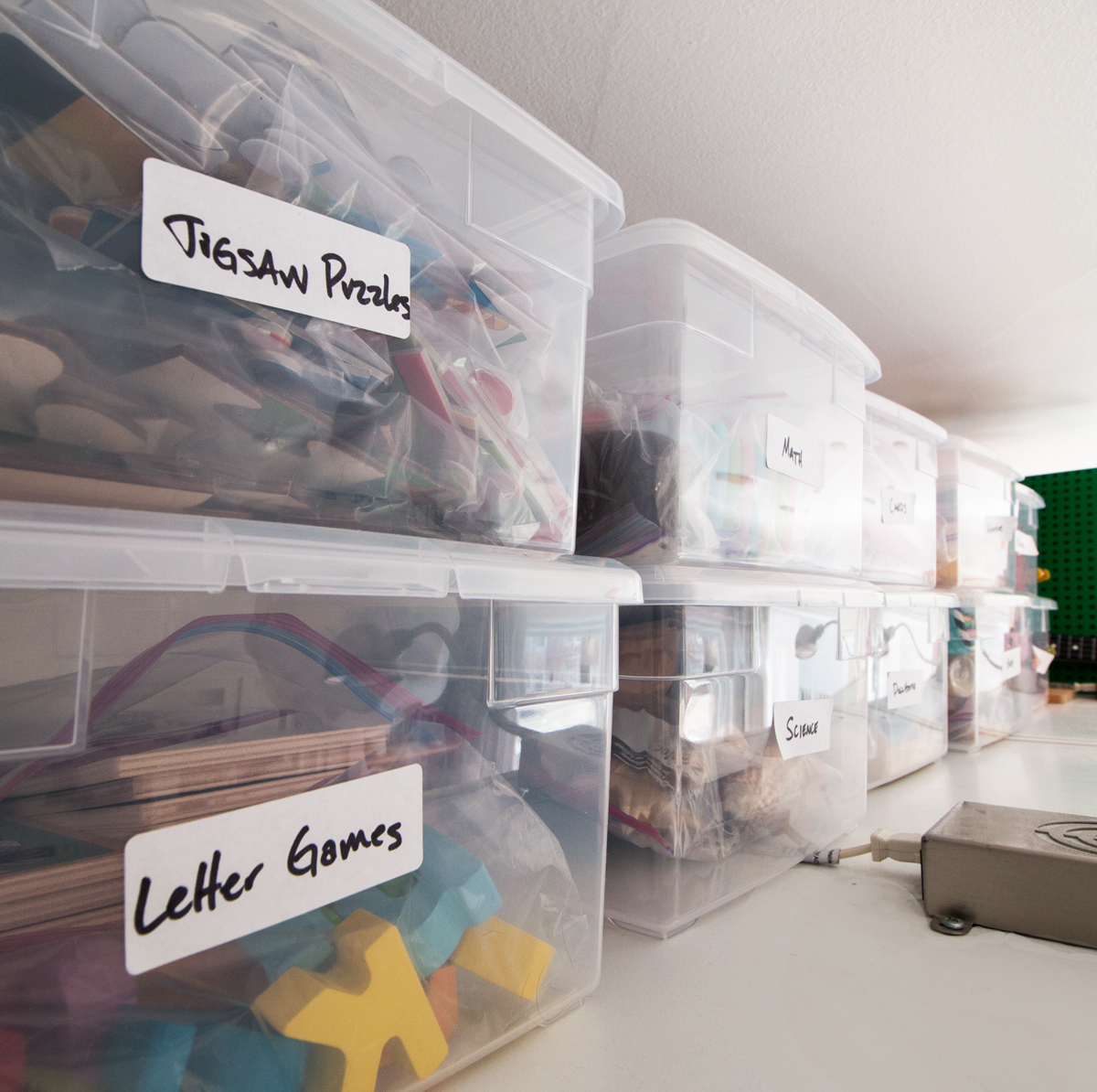 the container store boot boxes provide toy storage